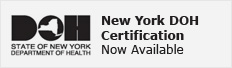 New York Department of Health Certification Now Available